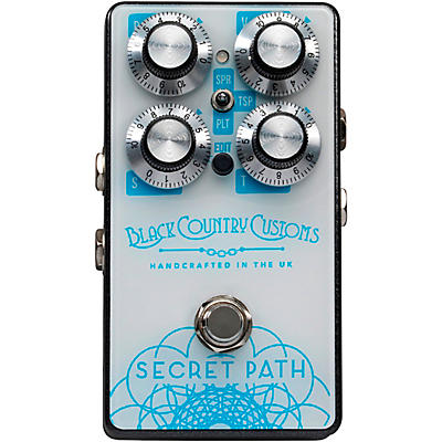 Laney Black Country Customs Secret Path Reverb Effects Pedal