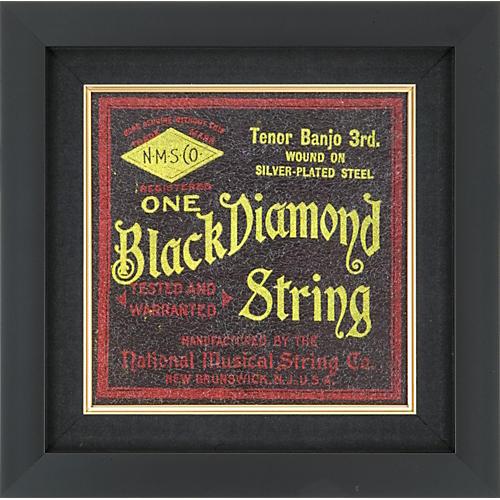 Gear One Black Diamond Banjo String Plaque