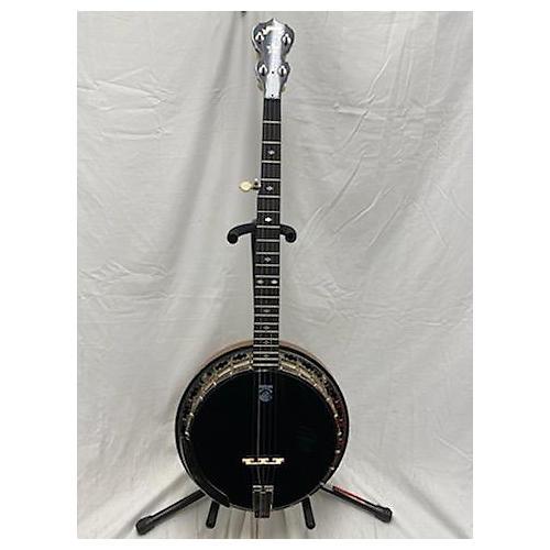 Deering Black Diamond Banjo Black