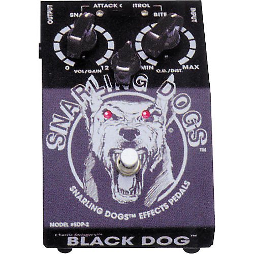 Snarling Dogs Black Dog Vintage British Tube Emulator