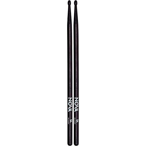 Nova Black Drum Sticks 5A