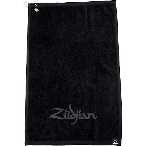 Zildjian Black Drummer's Towel Black