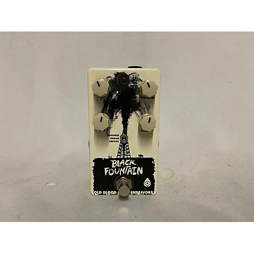 Old Blood Noise Endeavors Black Fountain Effect Pedal