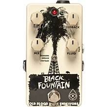Old Blood Noise Endeavors Black Fountain Oil Can Delay Effects Pedal