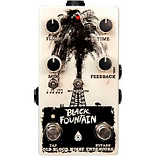 Old Blood Noise Endeavors Black Fountain V3 With Tap Tempo Delay Effects Pedal
