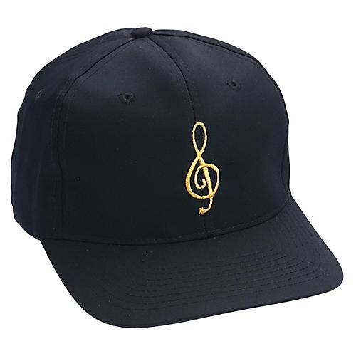 AIM Black/Gold Treble Clef Hat