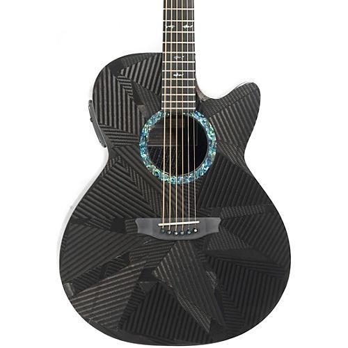RainSong Black Ice Series BI-WS1000N2 Graphite Acoustic-Electric Guitar