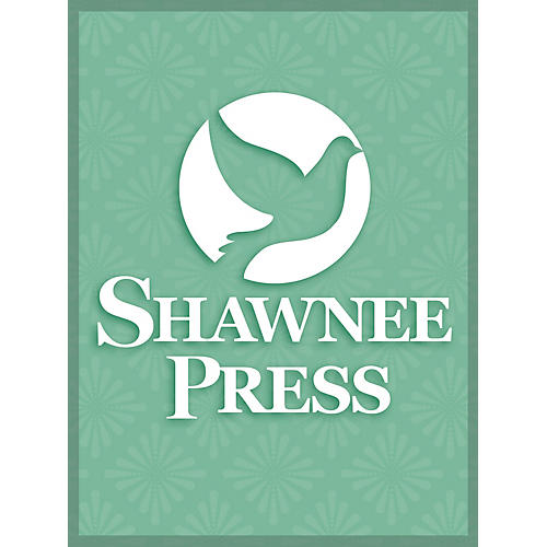 Shawnee Press Black Is the Color of My True Love's Hair SATB Composed by Churchill