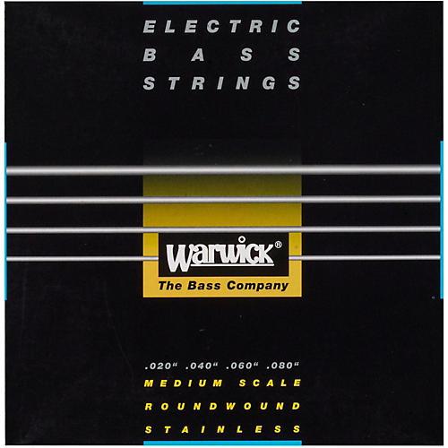 Warwick Black Label 4-String Piccolo Nickel Bass Strings