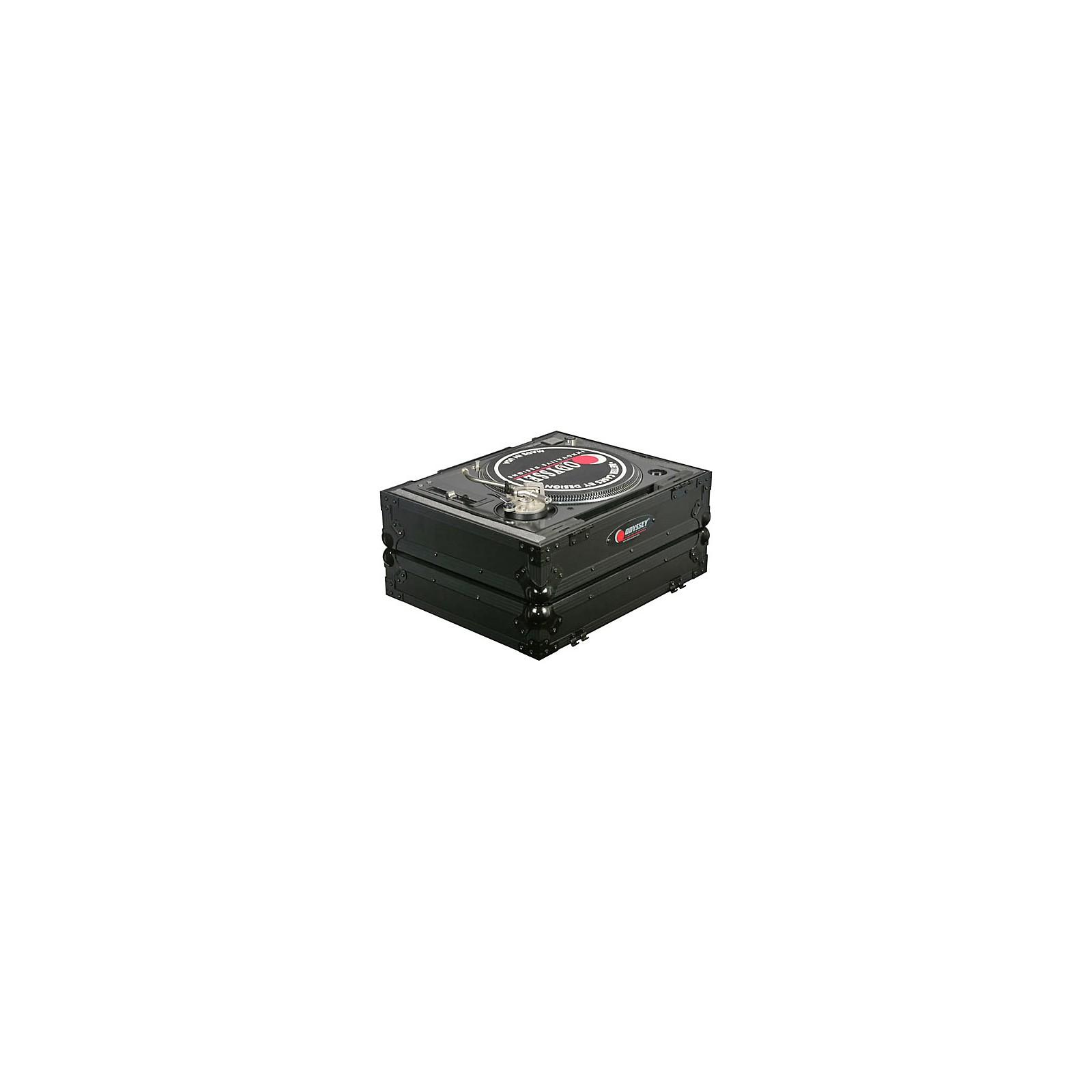 Odyssey Black Label FZ1200BL Universal Flight Case for 1200-Style DJ Turntable
