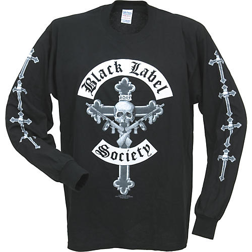 Bravado Black Label Society Cross Long-Sleeve T-Shirt
