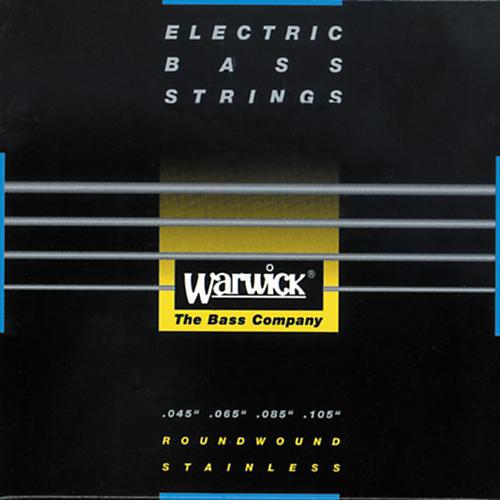 Warwick Black Label Stainless Medium Light 4-String Bass Strings