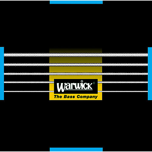 Warwick Black Label Stainless Medium Low 5-String Bass Strings