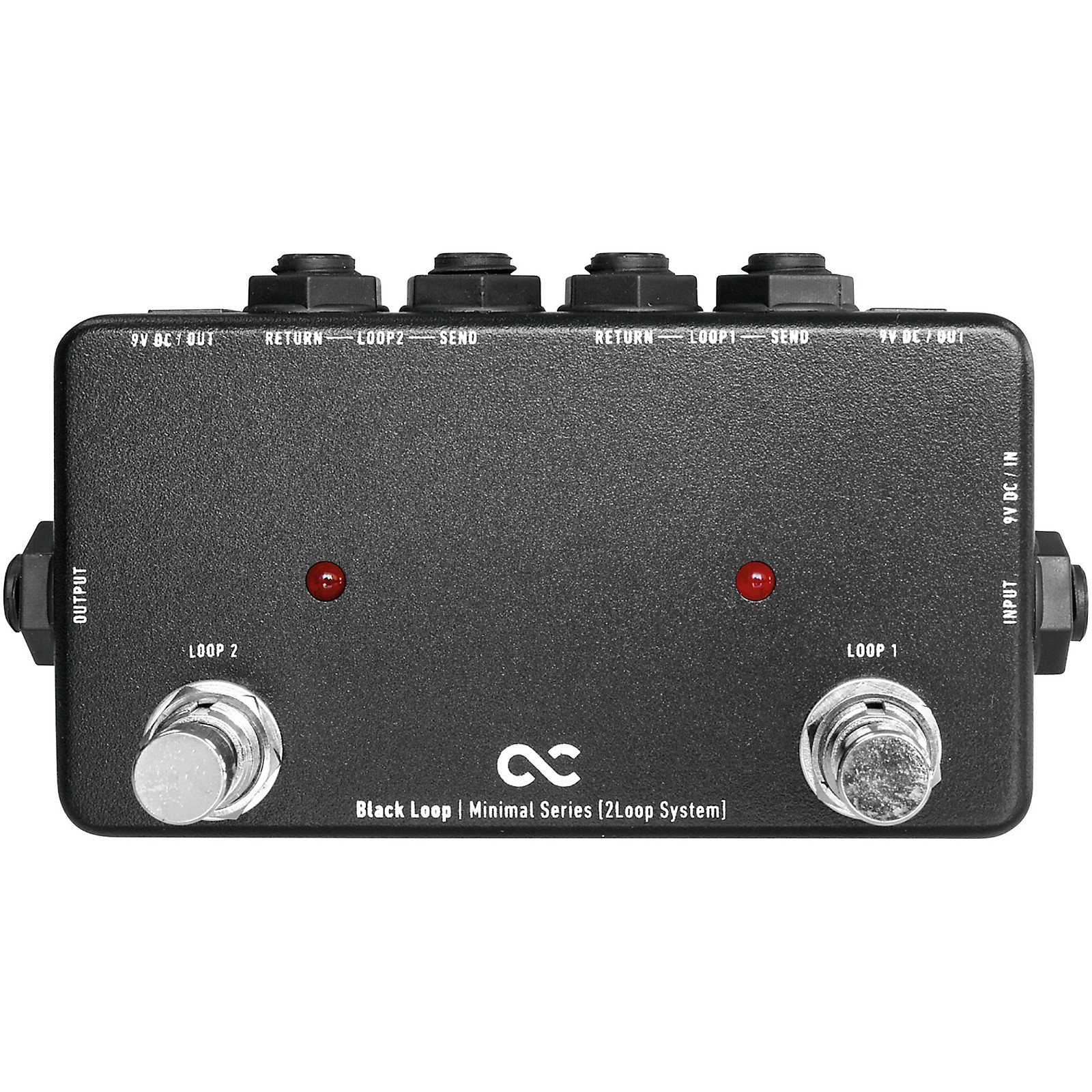 One Control Black Loop 2-Channel Loop Switcher