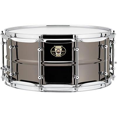Ludwig Black Magic Black Nickel Brass Snare Drum