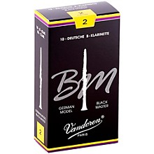 Black Master Bb Clarinet Reeds Strength 2, Box of 10