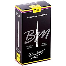 Black Master Bb Clarinet Reeds Strength 2.5, Box of 10