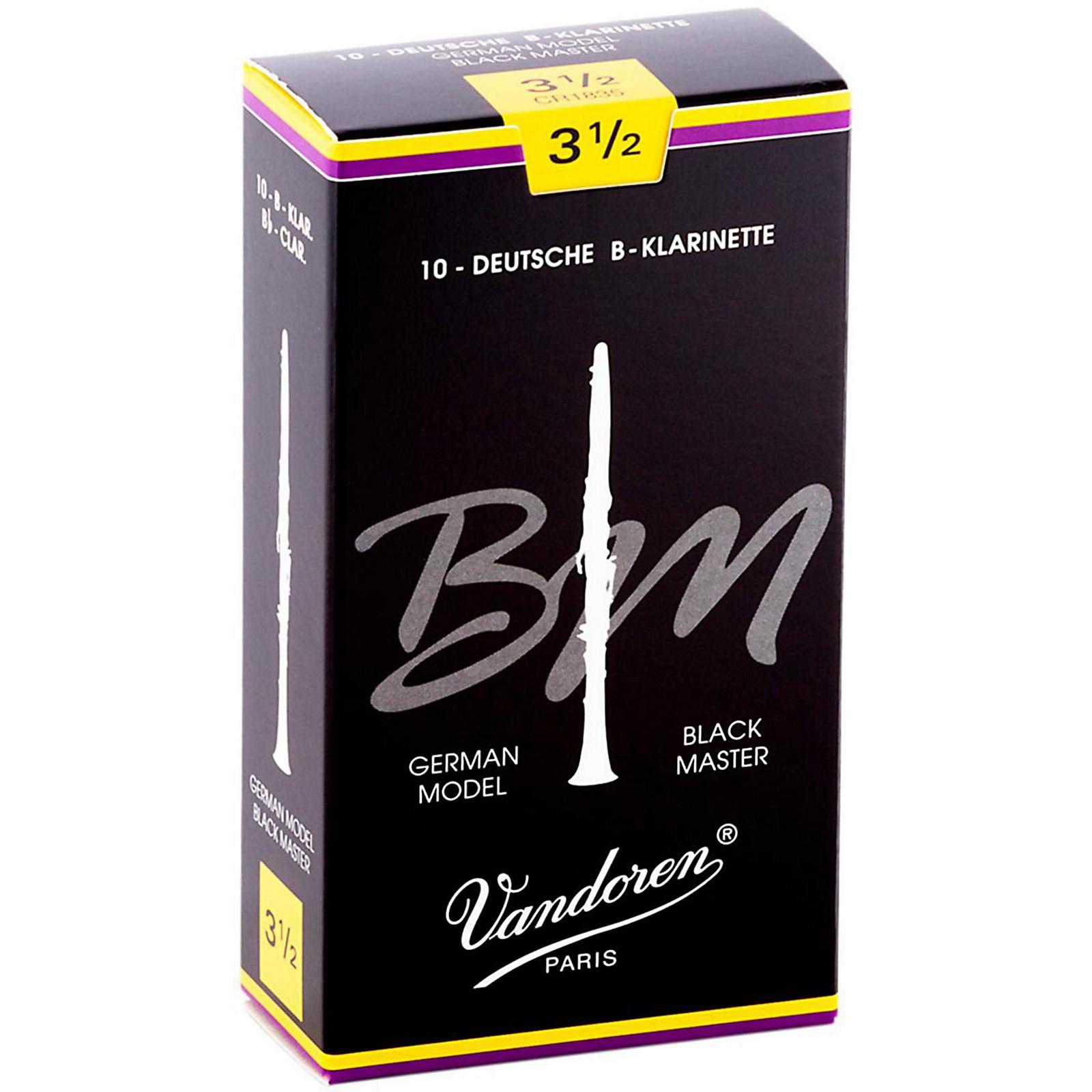 Vandoren Black Master Bb Clarinet Reeds