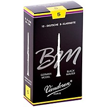Black Master Bb Clarinet Reeds Strength 5, Box of 10