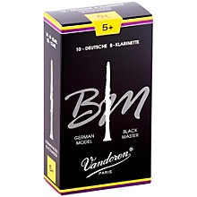 Black Master Bb Clarinet Reeds Strength 5+, Box of 10
