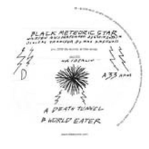 Alliance Black Meteoric Star - Death Tunnel