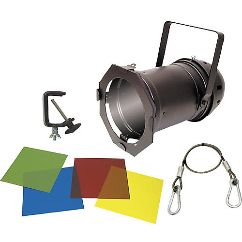 American DJ Black PAR 46 Can with Lamp