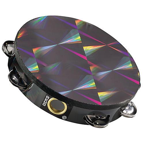 Remo Black Prizmatic Tambourine
