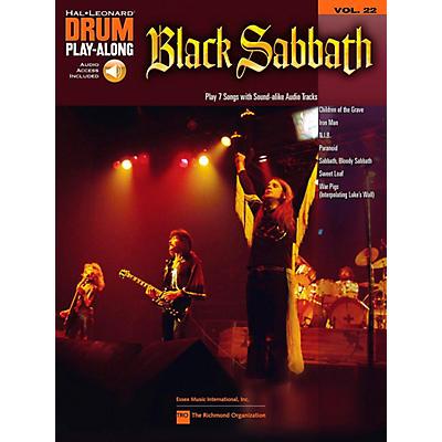 Hal Leonard Black Sabbath - Drum Play-Along Volume 22 Book/CD