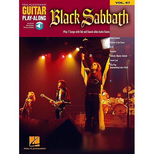 Hal Leonard Black Sabbath - Guitar Play-Along Volume 67 Book and CD
