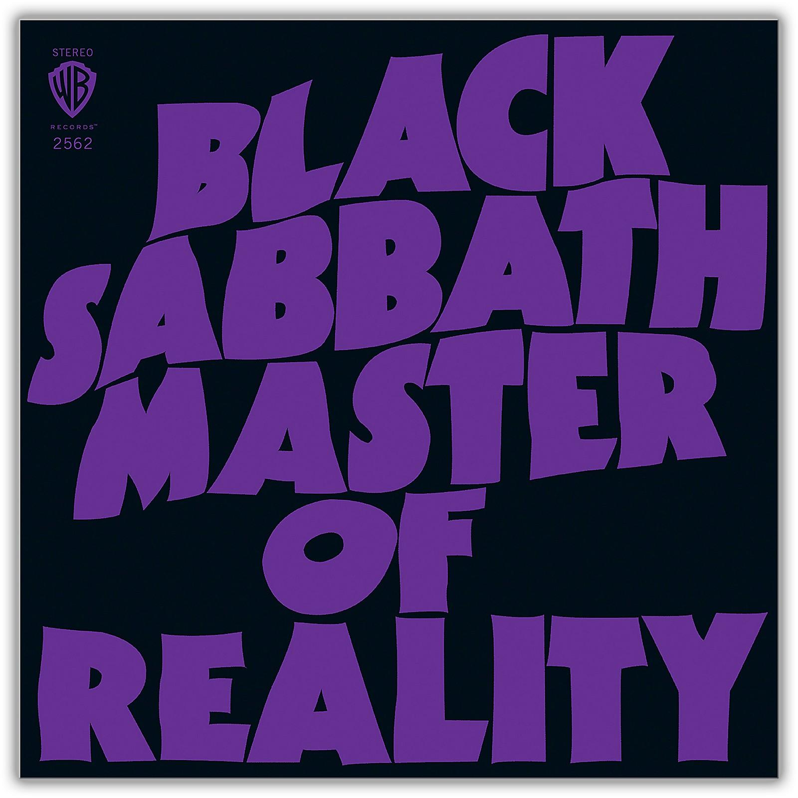 WEA Black Sabbath - Master Of Reality 180 Gram Black Vinyl LP