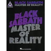 Hal Leonard Black Sabbath - Master of Reality