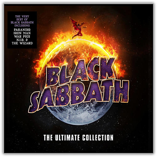 WEA Black Sabbath - The Ultimate Collection Vinyl 4LP