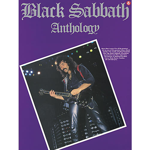 Music Sales Black Sabbath Anthology Guitar Tab (Book)