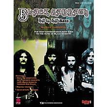 Cherry Lane Black Sabbath Riff by Riff Bass Guitar Tab Songbook