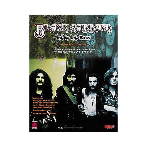 Black Sabbath Riff by Riff Bass Guitar Tab Songbook
