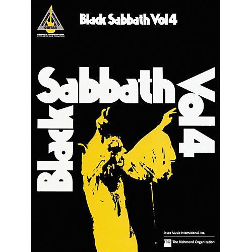 Hal Leonard Black Sabbath Vol. 4 Songbook