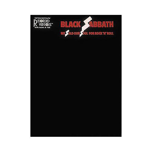 Hal Leonard Black Sabbath We Sold Our Soul for Rock 'n' Roll Guitar Tab Book
