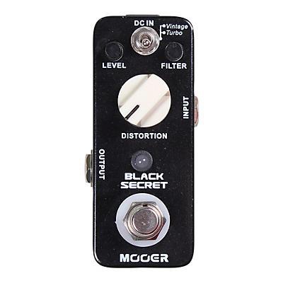 Mooer Black Secret Distortion Guitar Effects Pedal