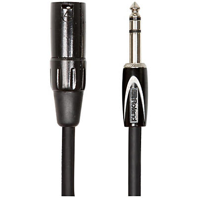 """Roland Black Series 1/4"""" TRS-XLR(Male) Interconnect Cable"""