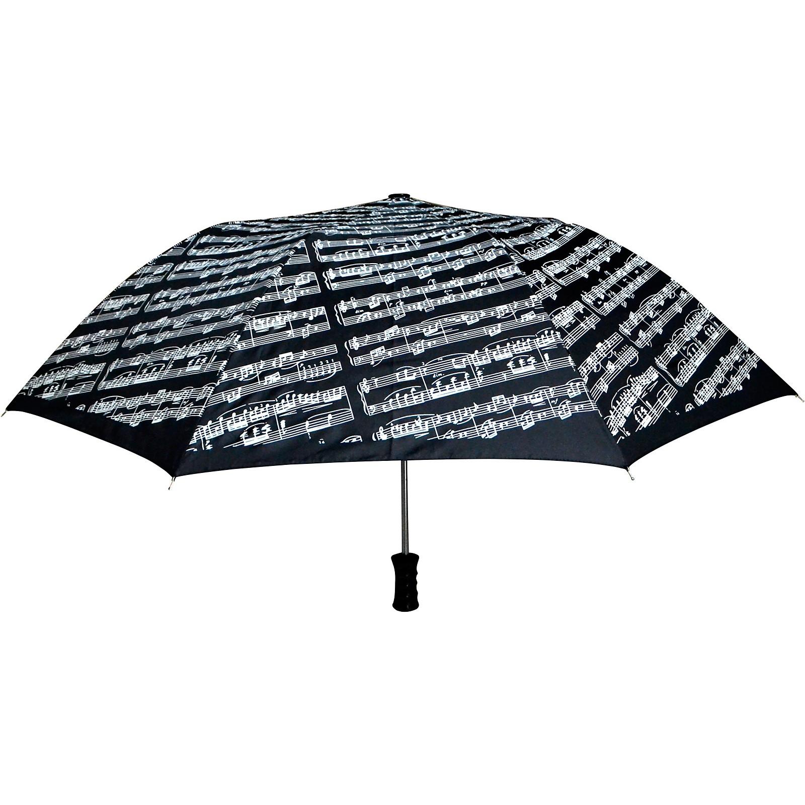 AIM Black Sheet Music Umbrella