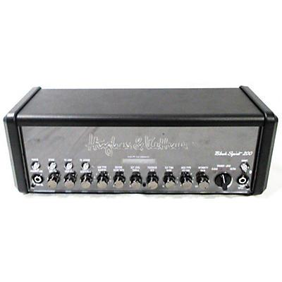 Hughes & Kettner Black Spirit 200 Solid State Guitar Amp Head