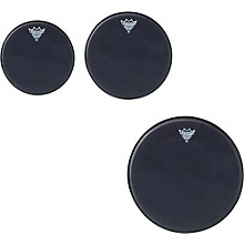 Remo Black Suede Emperor New Fusion Tom Drumhead Pack