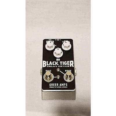Greer Amplification Black Tiger Delay Device Effect Pedal