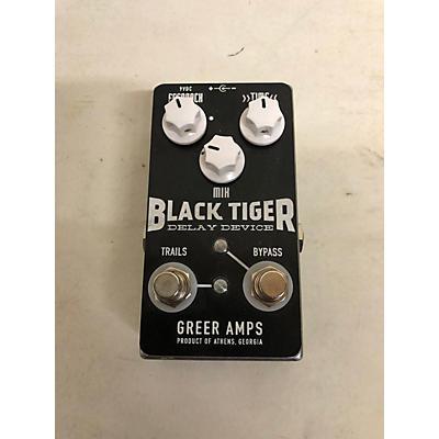 Greer Amplification Black Tiger Effect Pedal