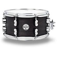 Black Wax Maple Snare Drum 13x7 Inch