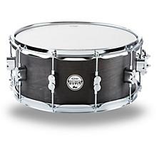 Black Wax Maple Snare Drum 14x6.5 Inch