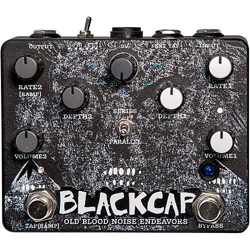Old Blood Noise Endeavors Blackcap Harmonic Tremolo  Effects Pedal Condition 1 - Mint Black