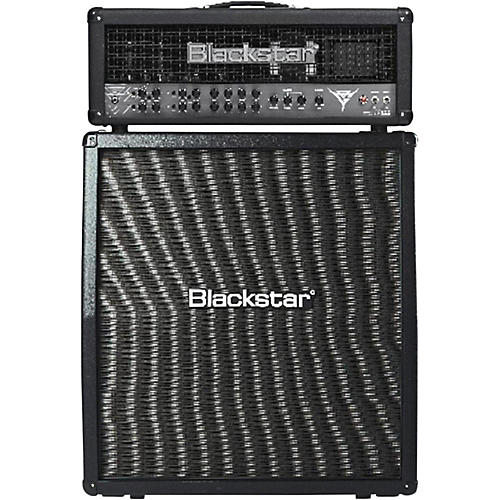 Blackstar Blackfire 200 Gus G Signature 200W Guitar Head with 412 240W 4x12 Slant Guitar Speaker Cabinet
