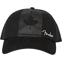 Fender Blackout Canadian Flag Hat - Onesize