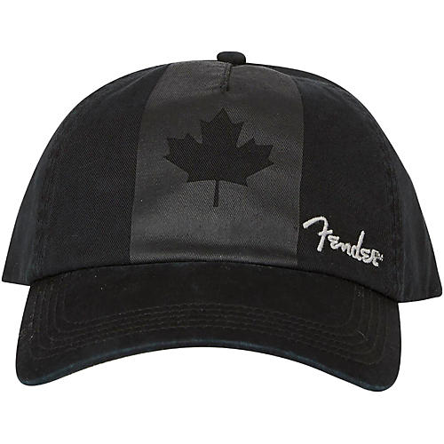 Fender Blackout Canadian Flag Hat - Onesize